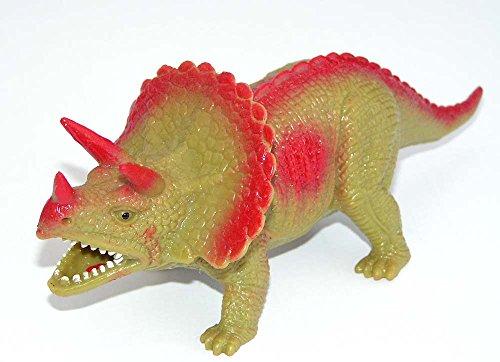Preisvergleich Produktbild Mega Stretch Dionsaurier 19 cm (Arrhinoceratops ) Gummidesign Spieltier Gummitier spielen+sammeln Mitbringsel 4883