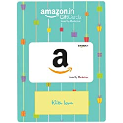 Amazon.in Gift Card in Green Gift Envelope -Rs.2000