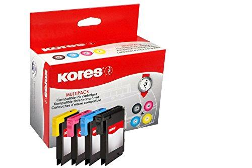Preisvergleich Produktbild Kores G1523KIT kompatible Tintenpatronen für Brother