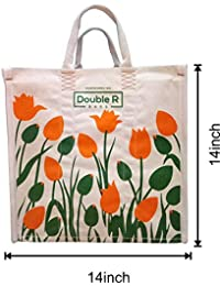 Double R Medium Heavy Duty Waterproof Shopping Bags/Kitchen Essentials/Grocery Bag/Vegetable Bag/jhola / Carry...