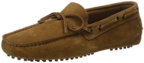 Scalpers Sailor Shoe, Zapatos para Hombre, Brown, 41 EU
