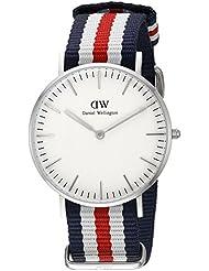 Daniel Wellington Damen-Armbanduhr Analog Quarz Textil DW00100051