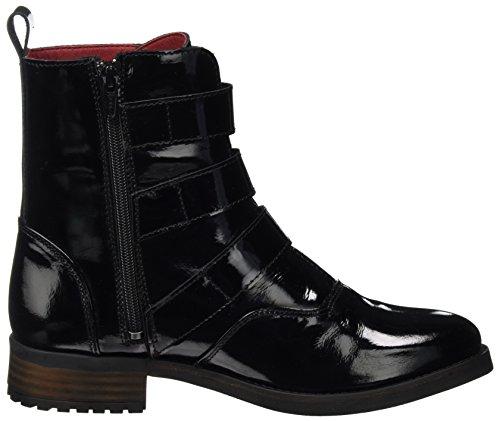Buffalo Damen Es 30981 Verniz Biker Boots Schwarz (PRETO 01)