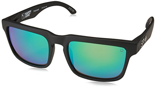 Spy Sonnenbrille Helm, happy bronze polar/green spectra, One size, 673015374861