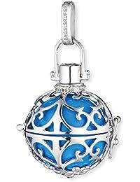 Engelsrufer pendentif classique pour femmes  M argent 925 Sterling avec carillon turquoise