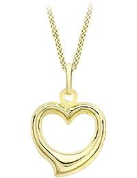 Carissima Gold Collar con colgante de mujer con oro amarillo de 9 quilates (375/1000)