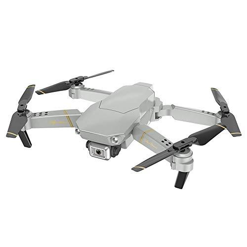TwoCC-Faltbare Drohne mit HD-Kamera 4K Dreistufige Fluggeschwindigkeit, LED-Beleuchtung, Headless-Modus, 360 ° -Flips und Höhenlage Praktisch für Anfänger und Kinder