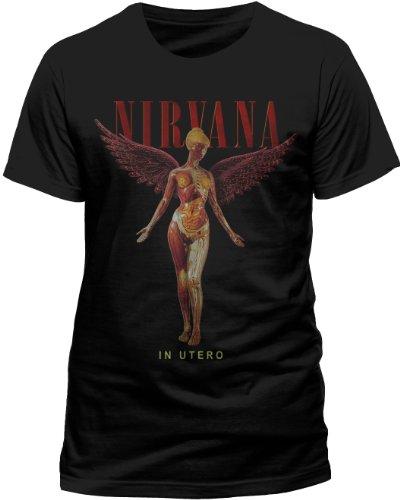 Live Nation - T-shirt Homme Nirvana - In Utero - Noir (Black) - Small