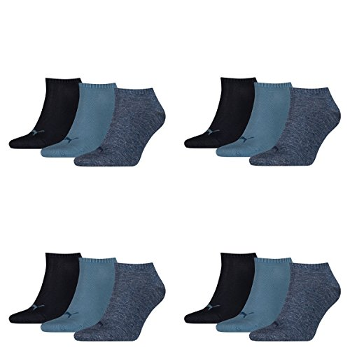PUMA Sneaker Invisible 12er Pack Denim Blue