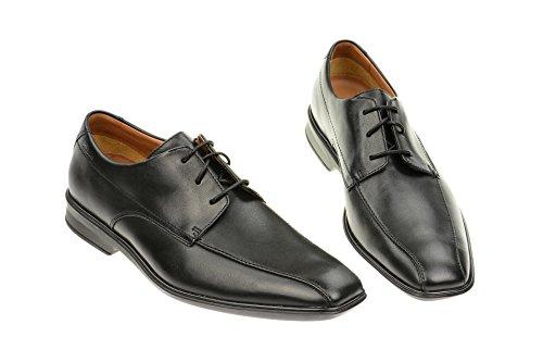 Clarks - Goya Band, Chaussures Élégantes Homme Noir (cuir Noir)