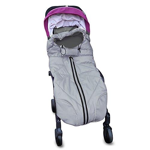 Zuoao Sacco a Pelo Termico per Passeggino Bambino per Baby 0-36 Mesi Per la primavera, Autunno e Inverno, 102*43cm
