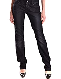Galliano Damen MCBI130053O Schwarz Baumwolle Jeans
