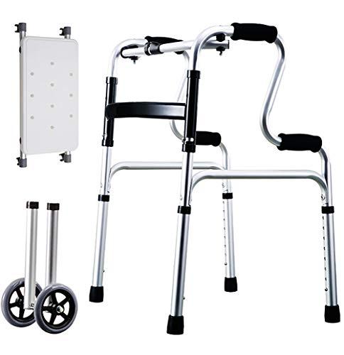 CSCR Discapacitado Caminante Plegable Multifuncional
