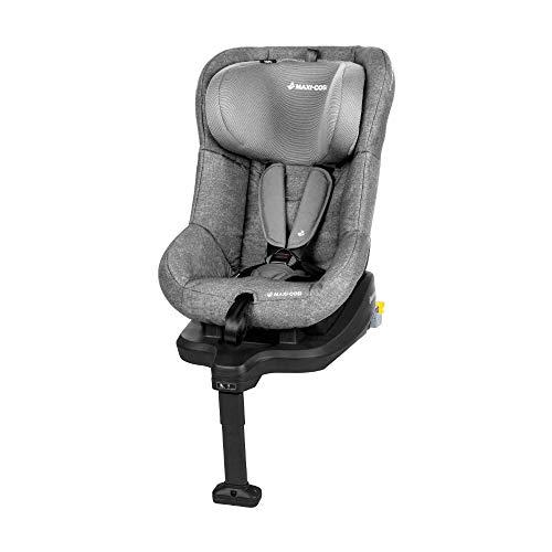 nderautositz mit Isofix und fünf komfortablen Sitz und Liegepositionen, Gruppe 1 Autositz, Nutzbar ab 9 Monate bis 4 Jahre, nomad grey (grau) 9-18 kg ()