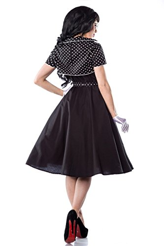 50er Jahre Rockabilly Petticoat Kleid mit Bolero & Gürtel - 3