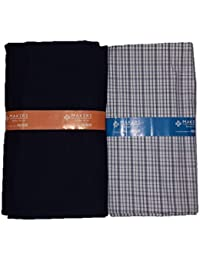 626660d5 Raymond Makers Men's Poly Cotton Unstitched Fabric for Shirt and Trouser  Combo (Multicolor, Free