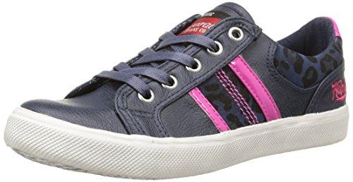 Kaporal  Toury,  Sneaker ragazza Blu Bleu (Marine/Leopard) 32