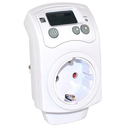 Steckdosen-Thermostat - Raumthermostat - Thermosteuerung für Infarotheizungen