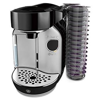 Bosch TAS75SE2 eléctrica Independiente Máquina de café Negro ...