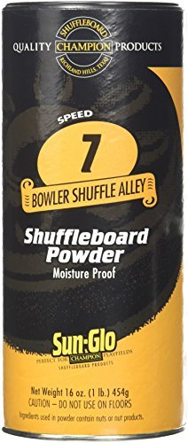 Shuffleboard Powder Wax-16oz Container by Sun-Glo