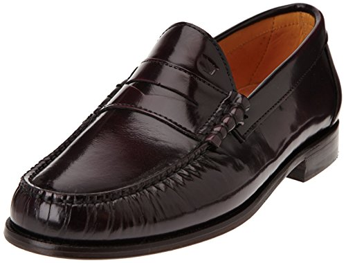 Florsheim Berkley 2 Herren Slipper Rot - Rouge (Wine Brush Off)