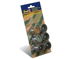 Revell Enamels 14ml 32340 Military Colour Paint Set