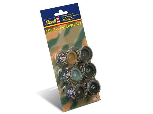 Revell 32340 - Botes de pintura para camuflaje militar (6 unidades x 14 ml)