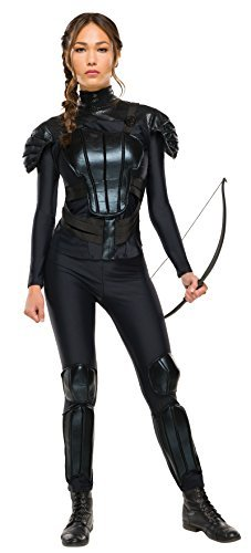 Katniss Everdeen Rebel (Hunger Games: Mockingjay Part 2) - Adult Costume Lady: M (UK:12-14) by Rubies (Katniss Mockingjay Kostüm)