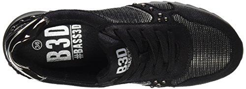 bass3d Damen 041359 Sneaker Black (Schwarz)