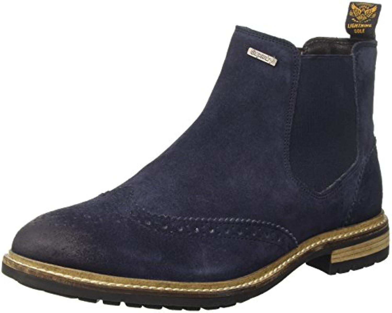 Superdry Herren Brad Brogue Chelsea BootsSuperdry Herren Brogue Chelsea Boots Billig und erschwinglich Im Verkauf
