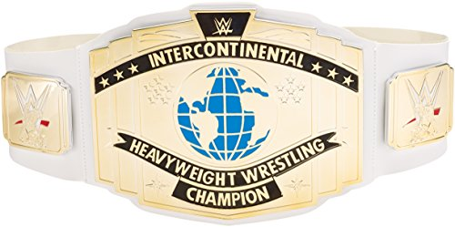 WWE Wrestling Gürtel weiß interkontinentalen - Mattel