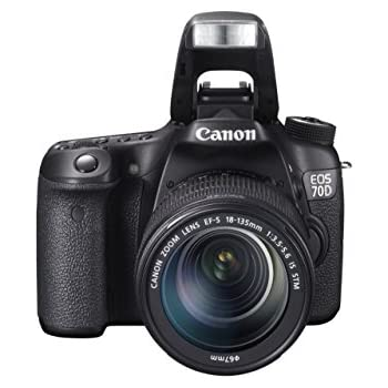 Canon EOS 70D + 18-135mm F3.5-5.6 IS STM: Amazon.es: Electrónica