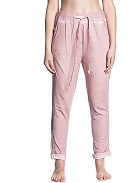 [Patrocinado]Abbino IG001 Pantalones para Correr para Mujeres - Hecho en ITALIA - Colores Variados - Entretiempo Primavera...