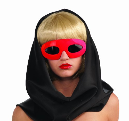 Red Lady Gaga Glasses - Lady Gaga Kostüm Outfits