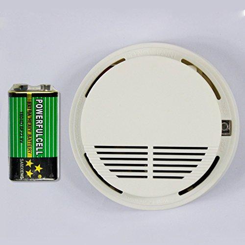 Wireless Sensore Rivelatore Fumo 433MHz per GSM Sistema
