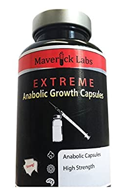 Strong Anabolic Mass Gainer Capsules - For More Muscle, More Strength, More Power and More Muscle - 90 Capsules by Maverick Labs
