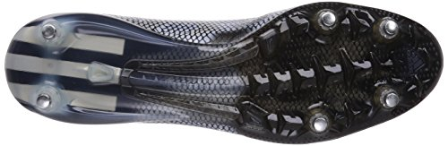 Adidas F50 Adizero Sg, Chaussures de Football Homme Noir (core Black/silver Met./silver Met.)