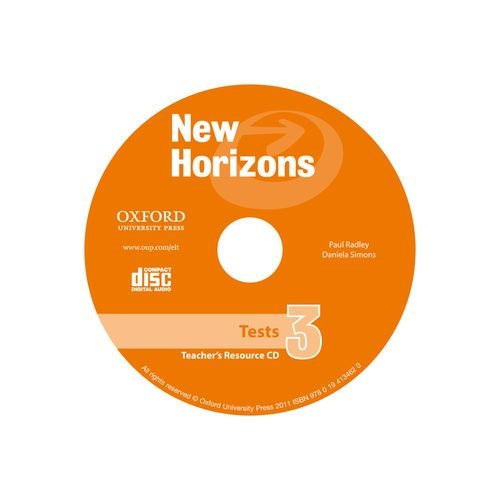 New Horizons 3. Teacher's Tests CD