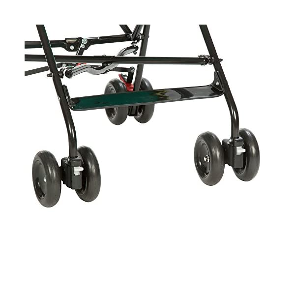 Safety 1st Peps Lightweight Buggy, Plain Red  Lightweight, only weighing 4.5kg so it's easy to carry Suspension on front wheels for a smooth ride Highly manoeuvrable with the swivelling front wheels 4