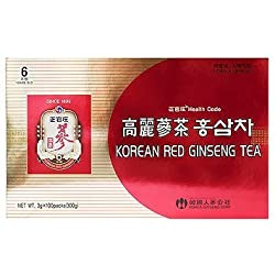 Cheong Kwanjang By Korea Ginseng Corporation Korean Red Ginseng Tea 3g × 50 Packets by Cheong Kwanjang By Korea Ginseng Corporation (English Manual)