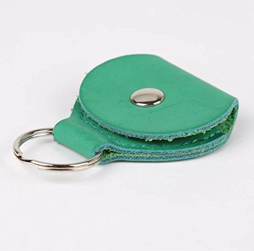 liroyal-1pc-key-chain-leather-paddles-packagegreen