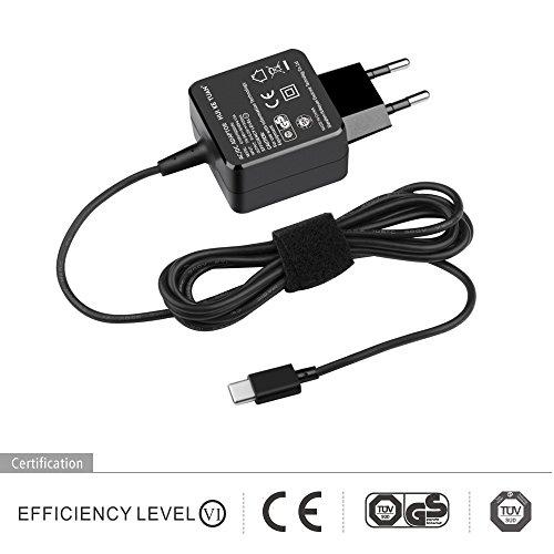 HKY 5.25V 5V 3A USB C Netzteil Ladegerät AC Adapter für Nintendo Switch/Nintendo Switch Pro Controller, Smartphone, HTC U11, 10 & Evo/LG G5 & G6, Samsung Note 8, Sony Xperia XZ, Google Pixel - Familie-batterie-ladegerät
