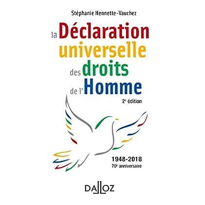 la Déclaration universelle des droits de l'Homme - 2e éd.