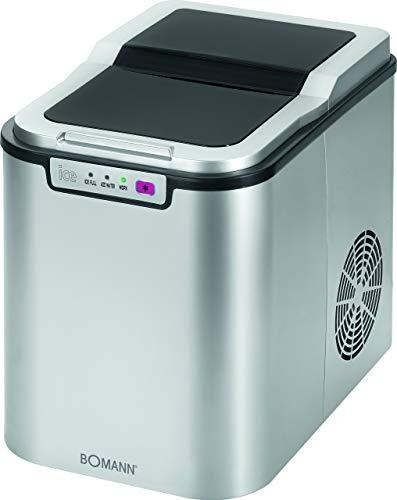 Bomann EWB 1027 CB Máquina de hacer cubitos de hielo 650 W, 2.2 litros, Plateado
