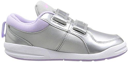 Nike - PICO 4 (PSV), Sportivo per bambine e ragazze MTLLC SLVR/LT MGNT-White-HYDRN