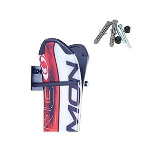 AZZAP Skihalter Skiträger Skistöcke Nordic Walking Stöcke Wandhalter Ski Gerätehalter N1