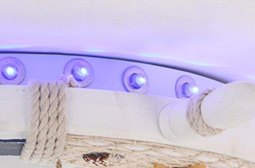 Kinderzimmer Kronleuchter Mittelmeer Rudder Seagull Schlafzimmer Kronleuchter Jungen und Mädchen Kreative LED-Augen Temperatur Einfache Xin Licht - 5