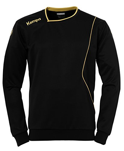 Kempa Curve Herren Training Top, schwarz/Gold, L
