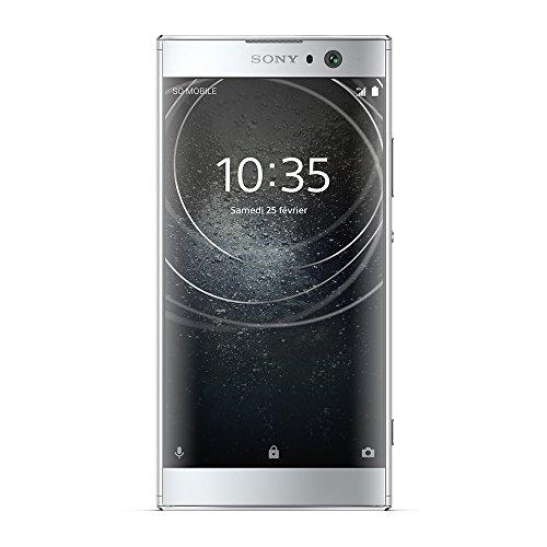 Sony Xperia XA2 Smartphone débloqué 4G (Ecran: 5,2 Pouces - 32 Go - Double Nano SIM - Android) Argent