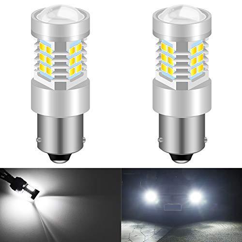 KaTur BAU15S PY21W Ampoules LED Haute Puissance 2835 21 chipsets Super Lumineux avec Remplacement du projecteur pour Feux de recul, Feux de recul, Feux de freinage arrière, Blanc xénon